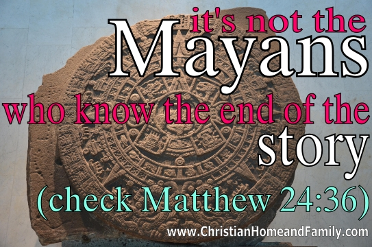mayan end of the world?