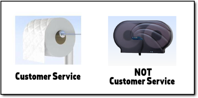 not customer service